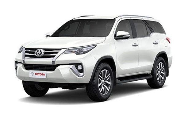 Cho thuê xe Toyota Fortuner 7 chỗ